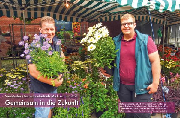 Vierländer Gartenbaubetrieb Michael Bornhöft
